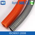32mm blanco de plástico de pvc alambre eléctrico flexible corrugado de la manguera