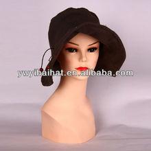 de gran calidad superior ala ancha sombreros de señora para la temporada de verano