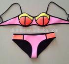 Open hot sexy girl photo New styles islamic bikini swimsuit for women