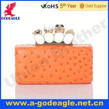 Custom Fashion Skull clutch bags for women_U0008-113