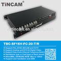 melhor preço 16 circuitos de longo alcance de áudio de vídeo do transmissor e receptor