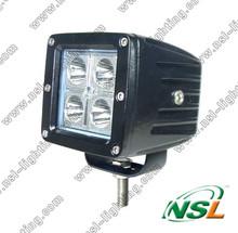 10-30V 3'' 16W CREE LED Work Light Spot/Flood Offroad Car Truck Worklight LED Driving Light Fog Light