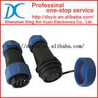 ip68 waterproof connector 2/3/4/5/6/7/8/9/10pin