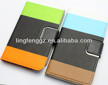 wallet style hybrid leather case for samsung galaxy n7100 note 2