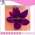 Vente en gros artificiels, pourpre fleur de lotus( gfch- 11)