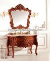 Bisni classic vaidade do banheiro armário do espelho, antigo novo estilo de armários de banheiro, tradicional casa de banho cabinetry( bf08- 4137)