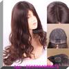 Alibaba China 4*4 or 5*5 silk top natural hair line body wave Remy European human hair Jewish wig kosher wigs