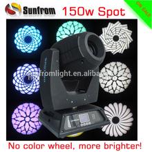 Unlimited Color Mixing 150 watt led moving head spot