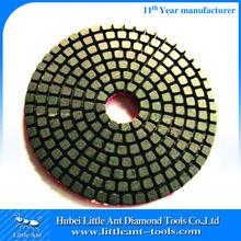 Diamond Polishing Pads 5'' Wet/Dry Professional Grade 2.7mm Height