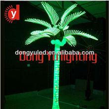 outdoor waterproof light up artificial palm tree