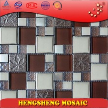 TC10 Ceramic tile mosaic marble look porcelain tile made in Foshan