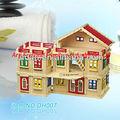 brinquedo educacional de madeira móveis de madeira mini