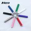 Kuqi bulk e cigarette purchase ego c twist, electronic cigarette wholesale ego twist battery,twisting battery variable ego twist