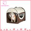 Portable Dog House Folding Pet Tent Red Dome Vintage Pet Carrier