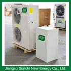 Suitable for extreme cold areas low temperature air to water heat pumps