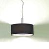 european style black fabric linen dining ceiling lamp,pendant light