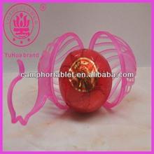 2014 Best Sell Plastic Mesh Hanging Naphthalene Balls/Toilet Fragrance Ball