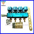 12v 3 ohm 4 cyl glp/gnc inyector de ferrocarril( rampa de inyecci