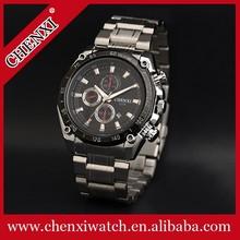 Top Quality Fashion Design Stainless Steel Quartz Watch Men