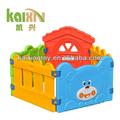 de plástico de vallas de jardín deinfantes patio de juegos para los niños