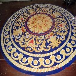 Handmade Chinese Round Rugs ASWA, alphabet/ number rugs