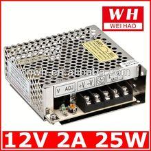 Metal case 12v switching power module
