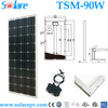 high efficiency Mono 90W solar panels for apartments