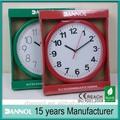10 polegada en plastique personnalisé horloge promotion produit / élément de promotion