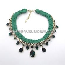 braided lace necklace qingdao fashion jewelry