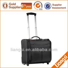 new design EVA black business travel trolley bag with wheels