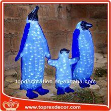Promotional stuffed christmas penguin toy