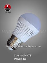 Low cost LED light bulb with E14/E27 base