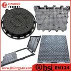 EN124 round ductile iron manhole covers