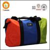 Bargain rainbow color waterproof nylon travel bag