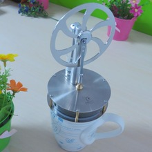 Star Power Creative Design Low Temperature Differential Stirling Engine Model