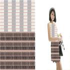 Internationa Design Printed Silk Brocade Fabric