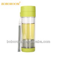 500ml Sealed Double BPA Free tea infusers water bottle /tea bottle