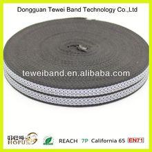 Jacquard elastic webbing for underwear,high quality polyester webbing,high tenacity polyester webbing