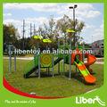 Crianças outdoor playground equipamento do parque de diversões brinquedos, exterior playground de plástico slide para venda le. Qi. 010