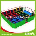 Cina produttore professionale trampolino con fossa schiuma e dodge ball, trampolino ginnastica di stoffa per la vendita, Le. T3.407.021