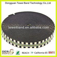 Promotion jacquard elastic band with custom logo,100% polyester satin underwear,cotton elastic waistband