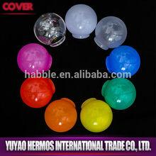 G40 beauty color led bulb plastic lamp shade