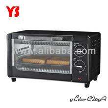 2013 hot selling new desgin 9L mini toaster oven
