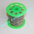 Imballatrice spool 4,5 millimetri palla catena di metallo in rilievo