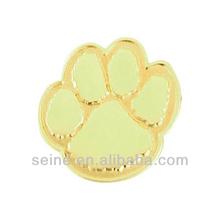 Custom unique dog tag metal pin/dog pug style pet tag
