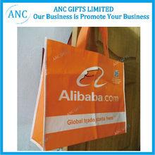 promotional logo printed custom non woven reusable shopping bag