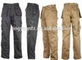 nuovo pesante peso di buona qualità di perforazione pantaloni cargo