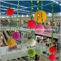 Big tipo de piso e de suspensão artificial bola de flores para casamento& decoração da cerimônia