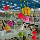 Big Floor Type and Hanging Artificial Flower Ball for Wedding & Ceremony Decoration