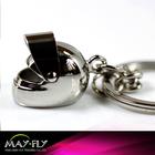 Metal keychain key ring key chain hanging ornaments helmet buckle accessories